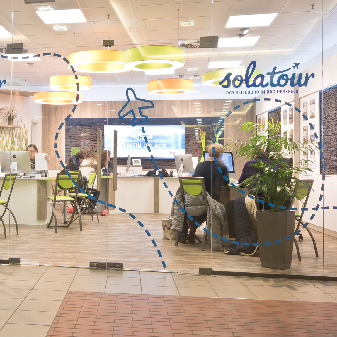 City Galerie Bad Hersfeld Reiseburo Solatour